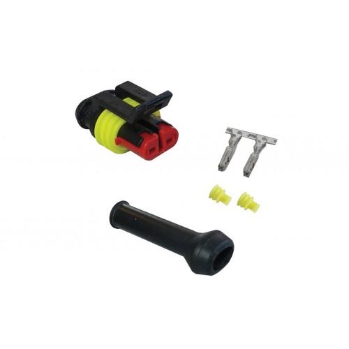 CONN - Kit de réparation connecteur SUPERSEAL 2 voies femelle VIGNAL D13880