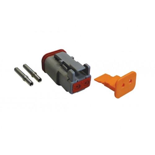 CONN - Kit de réparation connecteur Deutsch 2 voies DT 06-2S femelle VIGNAL D14170