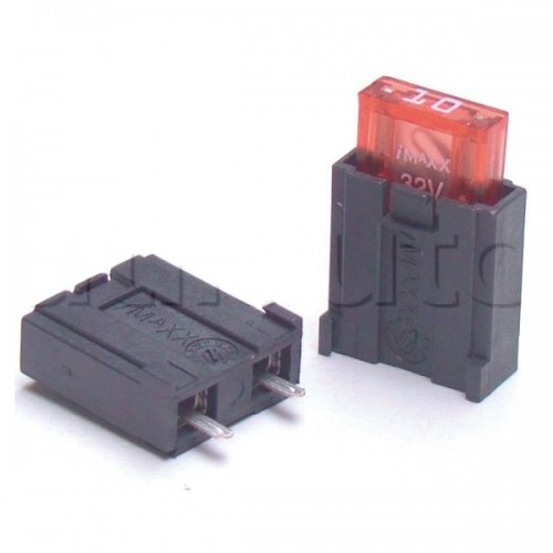 Porte-fusibles pour fusibles MINI pour fixation sur circuit imprimé