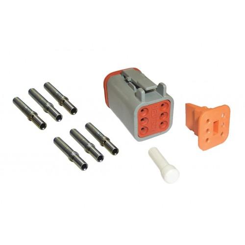 CONN - Kit de réparation connecteur Deutsch 6 voies femelle VIGNAL D14352