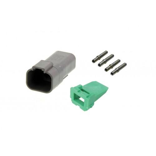 CONN - Kit de réparation connecteur Deutsch 4 voies DT 04-4P mâle VIGNAL D14434