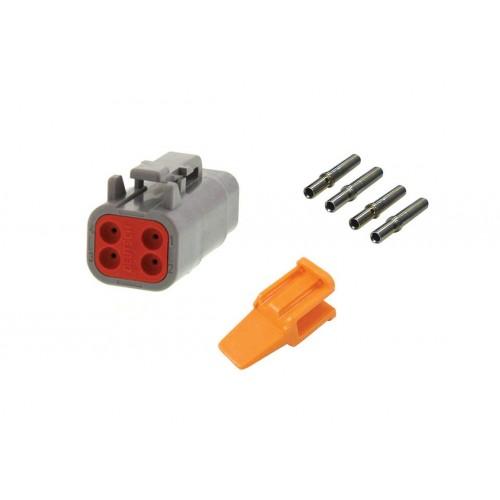 CONN - Kit de réparation connecteur Deutsch 4 voies DTM06-4S femelle VIGNAL D14437