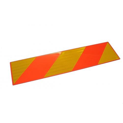 R70 - 2 Plaques ECE 70/01 plastique 566 x 132 VIGNAL D14535