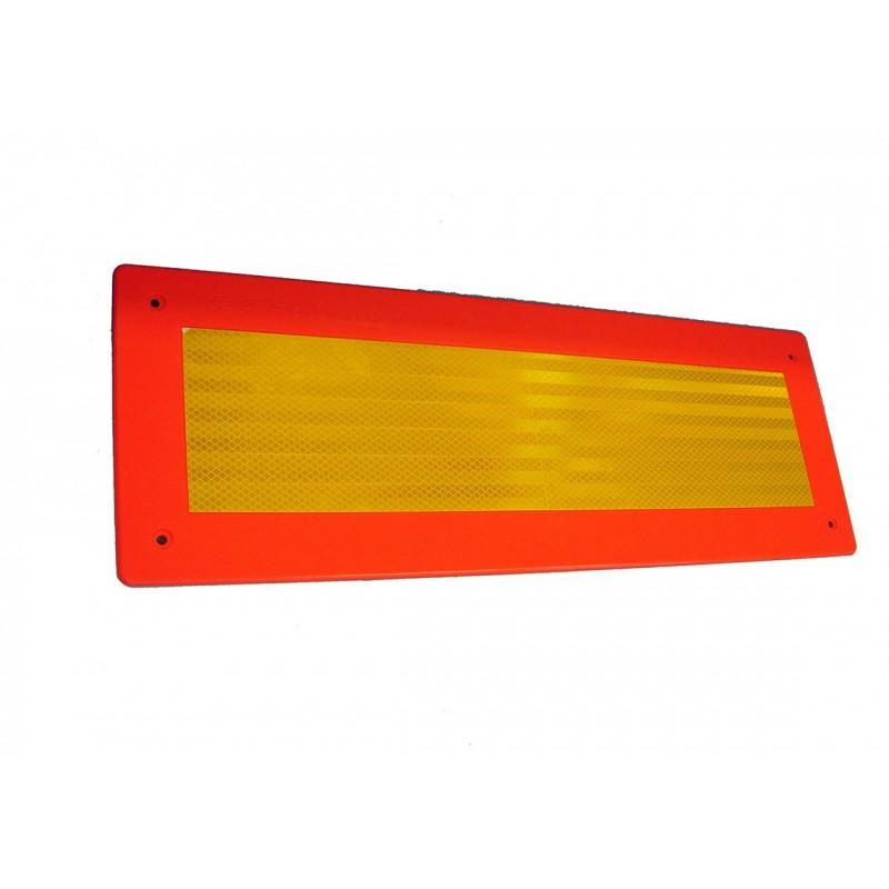 R70 - 2 Plaques ECE 70/01 remorques plastique 566 x 132 VIGNAL D14536