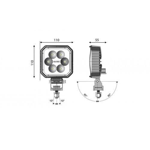 Alternateur Nissan 80A Bosch ruil 0986080680 Cargo 115531 EuroTec 12060836 PSH 165502080