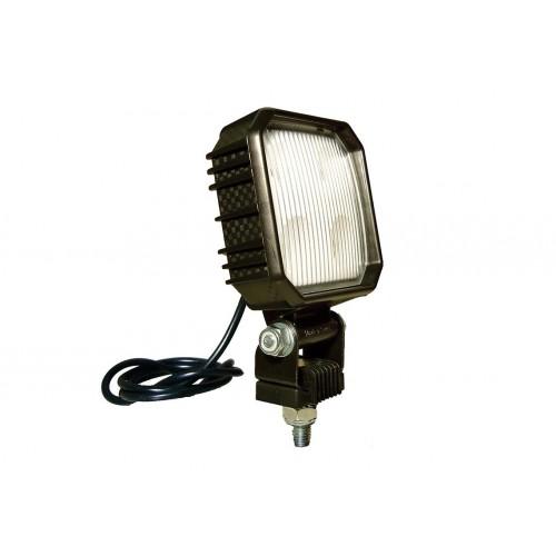 CARBONLUX - Feu recul R23 LED CARBONLUX carré 90X90mm avec interrupteur - cable