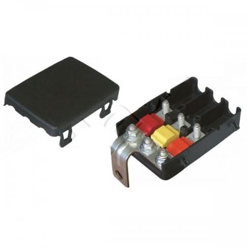 Boîtier de protection électrique pour 3 fusibles MIDI