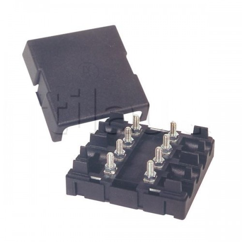 Boîte à fusibles pour 4 fusibles MIDI