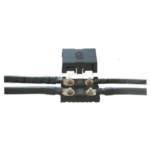 Boîtier de protection électrique pour 2 fusibles MEGA