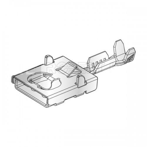 Clip femelle pour raccordement porte-fusibles 100338