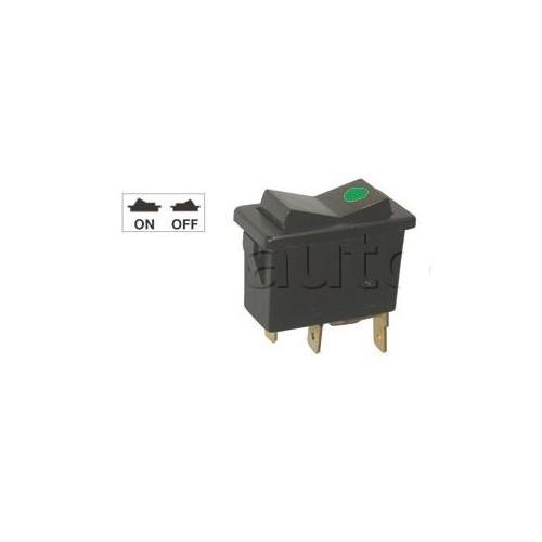 Interrupteur à bascule ON-OFF avec voyant lumineux.12V