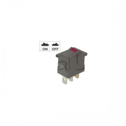 Interrupteur à bascule miniature - Eclairage par LED