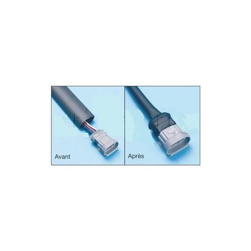 Gaine thermorétractable en longueur 1.22 m - Rétreint 2 : 1 D9,5L1,20m