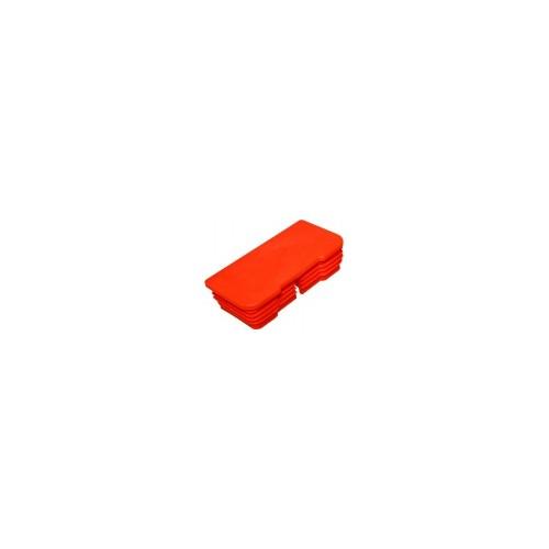 M0495.RBouchon plastique 100 x 50 droit dhollandia