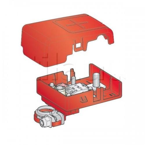 Boîtier de protection électrique pour 2 fusibles MIDI + 1 fusible MEGA