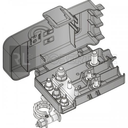 Boîtier de protection électrique + distribution de puissance pour 2 fusibles MIDI + 1 fusible MEGA