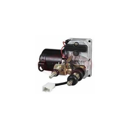 MOTEUR D'ESSUIE-GLACE 24V - AUTOPARK 58MM À DOUBLE ARBRE 90 ° DURITE 088690