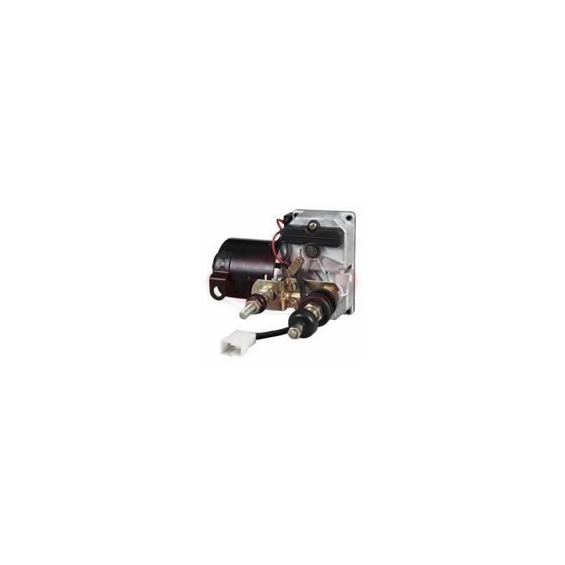 MOTEUR D'ESSUIE-GLACE 24V À COMMUTATION / AUTOPARK 58MM, ARBRE DOUBLE 110 °