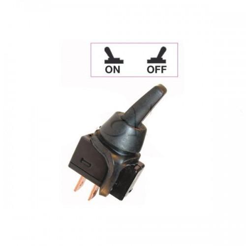 Interrupteurs à tige PVC 18 mm - Connexions à fiches 6,35 mm - Série économique + CAOUTCHOUC