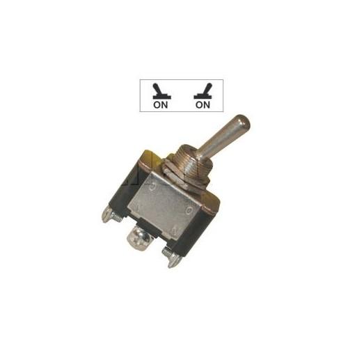 Interrupteurs à tige métal 18 mm - Connexions à vis - Série haute performance 18mm