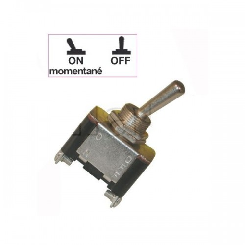 Interrupteurs à tige métal 18 mm - Connexions à vis - Série haute performance ON-MON