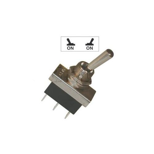 Interrupteurs à tige métal 20 mm - Connexions à fiches 6,35 mm - Série haute performance 20mm