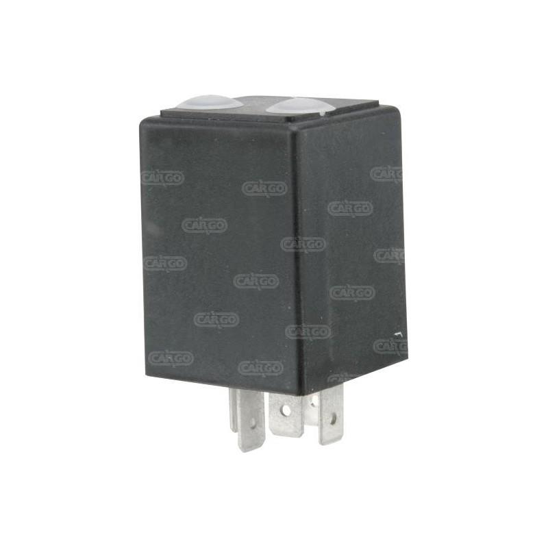 Relais programmable 12V 10A 0.5S à 10H