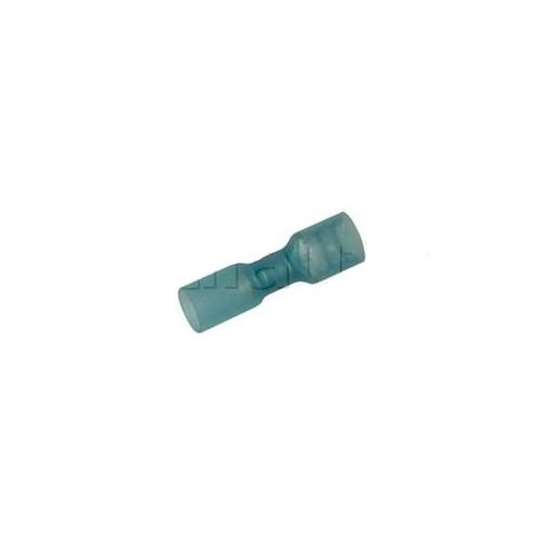 Clip femelle largeur 6.35 mm tout-isolé BLEU