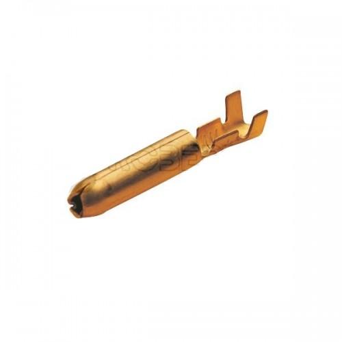 Cosses rondes laiton brut 0,5 à 1 mm²