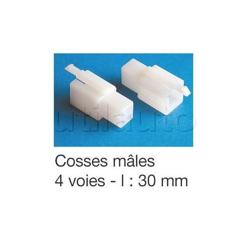 Connecteurs type ML avec clipsage COSSE M