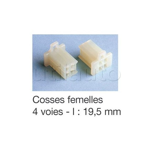Connecteurs type ML avec clipsage COSSE F