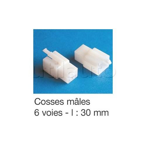 Connecteurs type ML avec clipsage 6 VOIES COSSE Ma