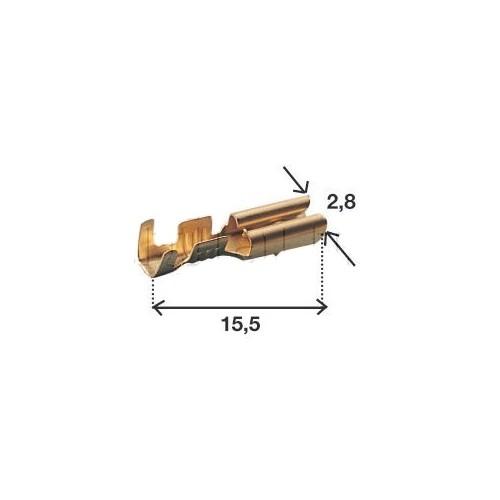 Connecteurs type ML avec clipsage FEM. 2.8mm