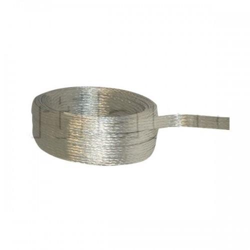 Tresse cuivre étamé au mètre 5mm2 x25