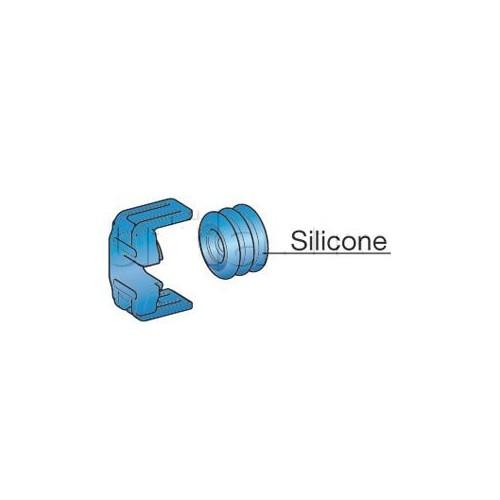 Accessoires pour étanchéité arrière des connecteurs de puissance 2 voies BLEU (4-6mm2)