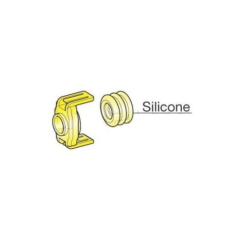 Accessoires pour étanchéité arrière des connecteurs de puissance 2 voies JAUNE (10mm2)