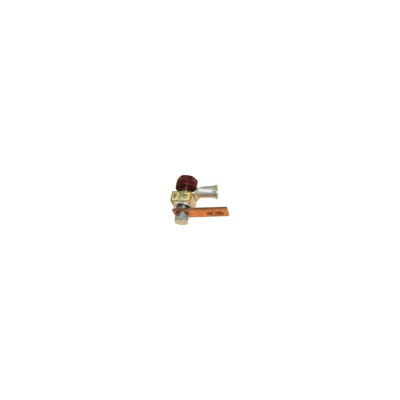 Porte fusible 100 A équipé (carré) Erhel 20150475