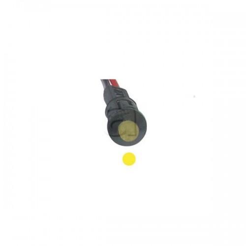 Voyant de contrôle Miniatures à LED 12V JAUNE