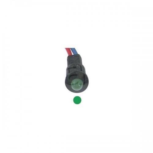 Voyant de contrôle Miniatures à LED 12V VERT