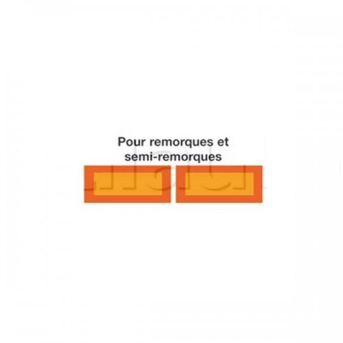 Dispositifs de plaques européens ALU 2PL ECE 01