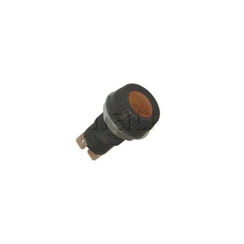 Voyants de contrôle 6, 12 et 24 Volts pour panneau épaisseur maxi 4 mm ORANGE