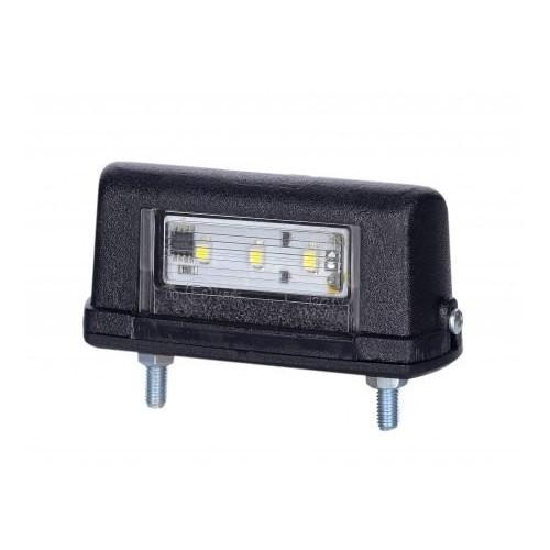 Éclaireur de plaque à led - 3 LED 12/24 VOLTS