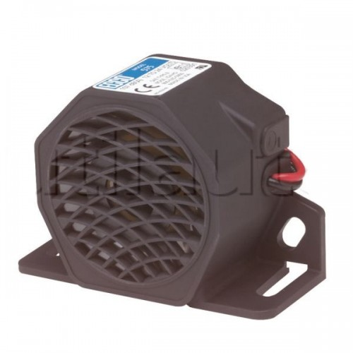 Alarme de recul 12/24 Volts à ultrasons - Multifréquences- IP67 97DB