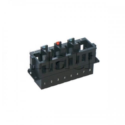 Boîte support pour 8 fusibles disjoncteurs série 2232