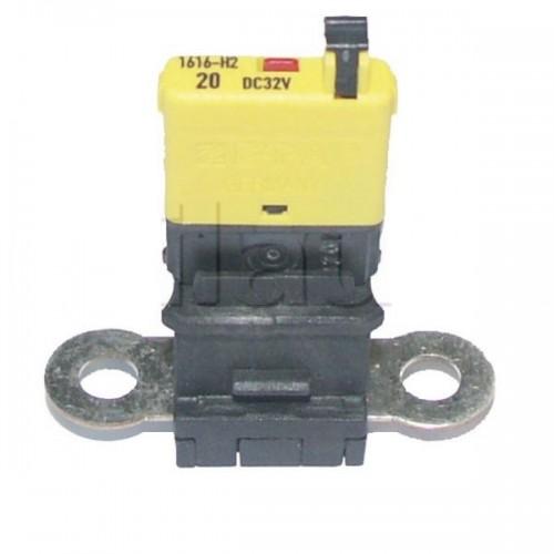 Adaptateur pour remplacer un fusible MIDI par un fusible disjoncteur disjoncteur ou un fusible MINI disjoncteur.
