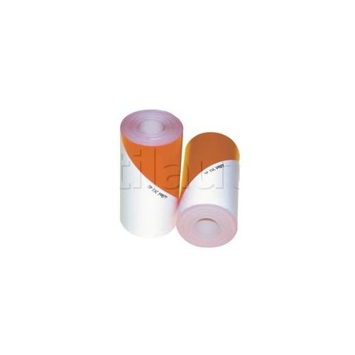 Bande à usage agricole blanc/orange fluo - Classe 1 KIT BANDE ALTERNEE 2x10m