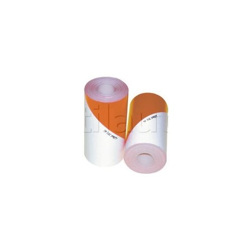 Bande à usage agricole blanc/orange fluo - Classe 1 KIT BANDE ALTERNEE 2x2m