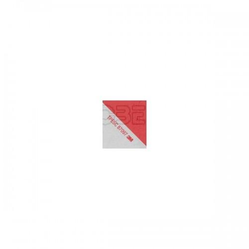 Bandes adhésives alternées pour véhicules d'intervention blanc/rouge rétro réfléchissant 0.14X45.7 3M CL1