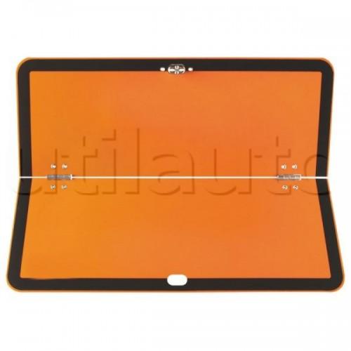 Rectangle d'identification orange réfléchissant 400 x 300 repliable - ADR HORIZONTALE.300X400