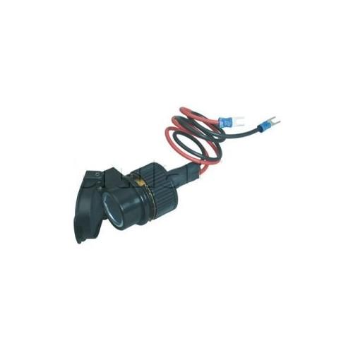 Socles et prises électriques femelles pour alimentation d'appareils ou d'accessoires